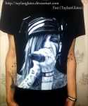 jayy von monroe t-shirt biggest fan 2013 by TaylanGlates