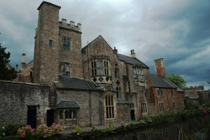 Backside of the Bishop's Palace by EarthHart