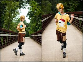 UtaPri: Fun In Syo's Clothes by CosplayerWithCamera