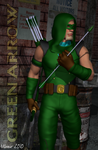 Green Arrow by NVent3d