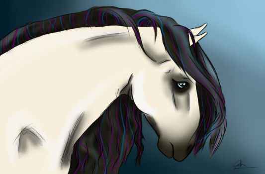 Face down in the dirt... by horsefreakbecca