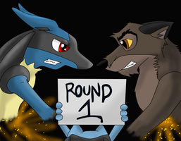 Lucario vs Balto lucario2007 by Lukurio