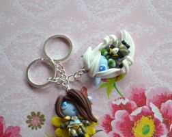 Wow keychain commission by Lighane