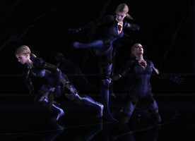 BattleSuit Jill Pose Pack by a-m-b-e-r-w-o-l-f