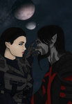 Secunda's Kiss by x-Kaelara-x