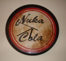 Nuka Cola Wall Clock by frazerus