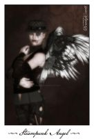 Steampunk Angel for Jackie by brandydeshea