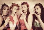 The Pin Up Ladies by ninazdesign