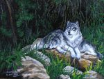 Wolves in the forest by VeronikaDark