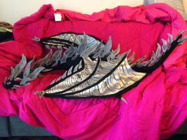 Alduin plush by KatiesClayCreatures