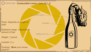 Aperture combustible lemon (Blue print V.2) by Noiporcs