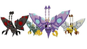 Phantom Moth Set by blazeraptor