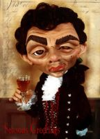 Blackadder caricature. by sueworld