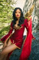 AION 5.0 Cosplay - red and gold by the-mirror-melts
