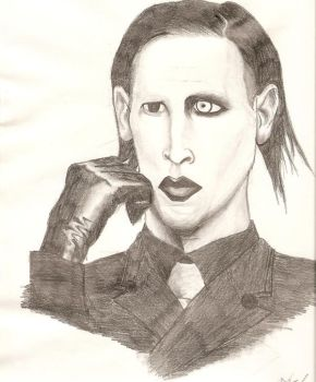 Marilyn Manson 01 by LeiFox