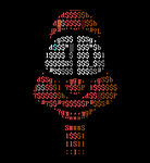 The ASCII Man by buddhascii