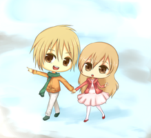 CHIBI.COUPLE by Hannun