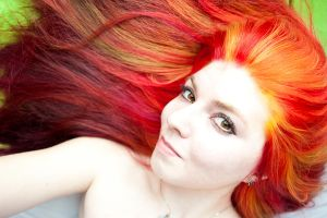 Fire Hair by lizzys-photos