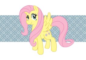 My little pony... fluttershy by lalindaaa