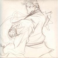Preliminary Ryu Sketch by anubis55