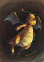 dragonite by mimetic-heresy