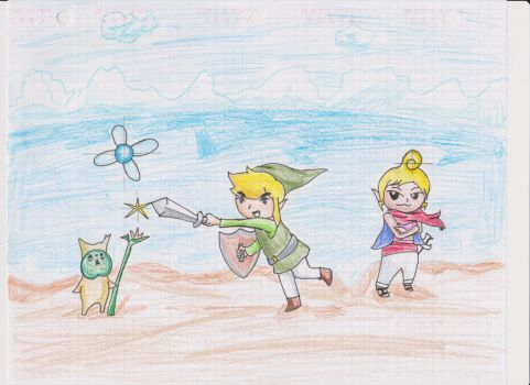 Legend of Zelda Wind Waker by demyx4ever