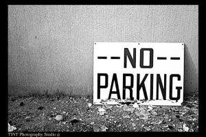 No Parking by TINTPhotography