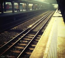 Train Station by Sapph1que