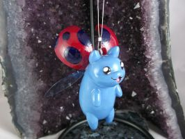 Flying Catbug Ornament by DeadHeartMare