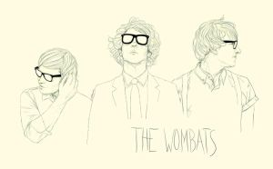The Wombats by overkill79