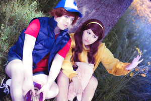 Gravity Falls - Mystery Twins by stormyprince