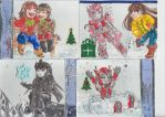 Christmas Cards set2 by Star10