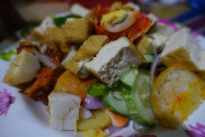 Colorful Indian Rojak by nosugarjustanger