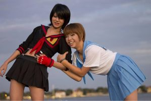 Kill la Kill: Besties by xXSnowFrostXx