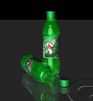 7 up bottle 360 cam rotation by 3dmodeling