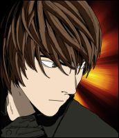 Light Yagami from Death Note by JamesUchiha