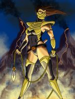 Lady Scorpion by chaos6x9