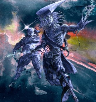 Zombie space pirates by Nicoll