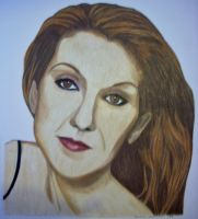 Celine Dion Colour by donna-j
