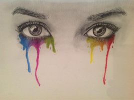 Crying Colours by Evviee