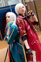 Dante and Vergil: Sparda's Angels! by neo627764