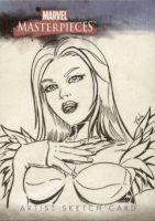 UD Sketchcard 2007 White Queen by TsWu