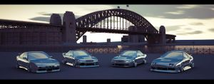 Sydney Harbour WIP 6 by advanRE7