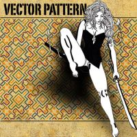 vector pattern 109 by paradox-cafe