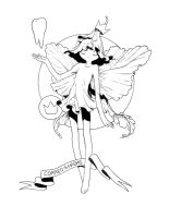 Tooth Fairy for coloring by chamakoso