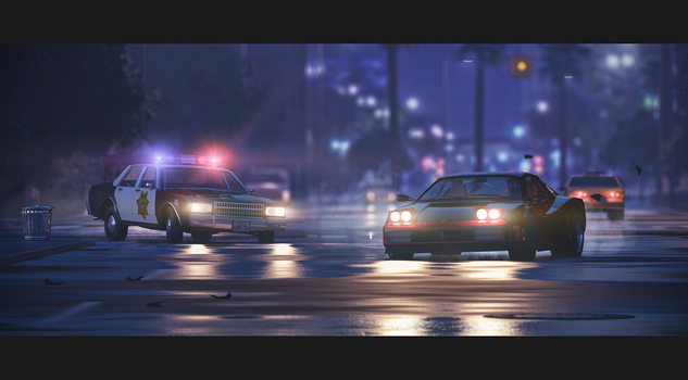 Night Chase by Remy31460