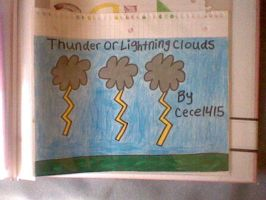 Thunder or Lightning Clouds by CeceLovesSoShSi1415