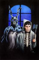 Donnie Darko and Frank by Xyrth