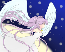 .: Angel From the Sky :. by Never-Forget-Me-Not