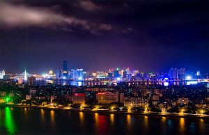 Huizhou by Night 2 by StevenLdk